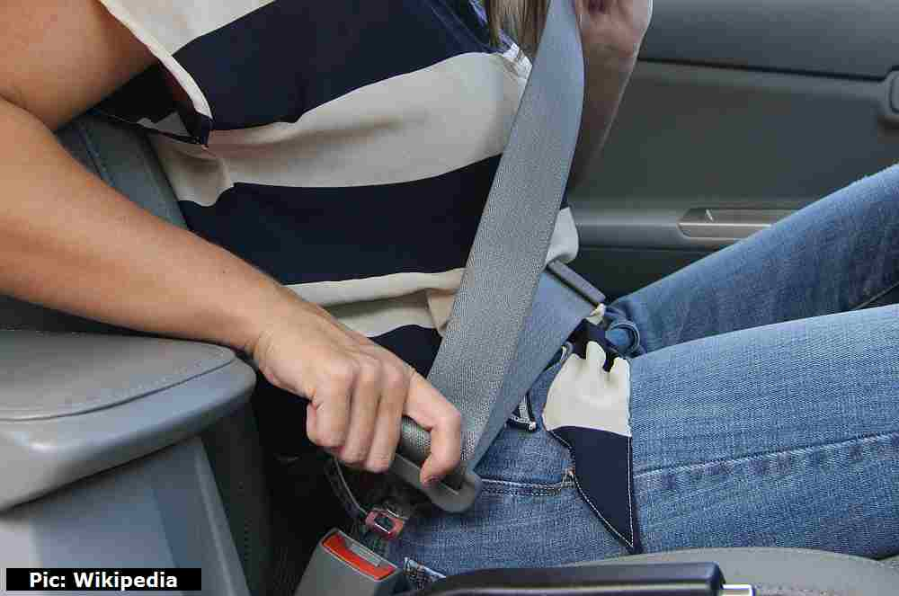 Seat belt in Shimla