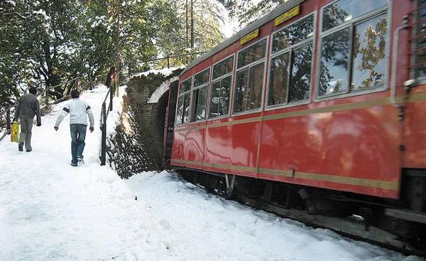 कालका शिमला ट्रेन