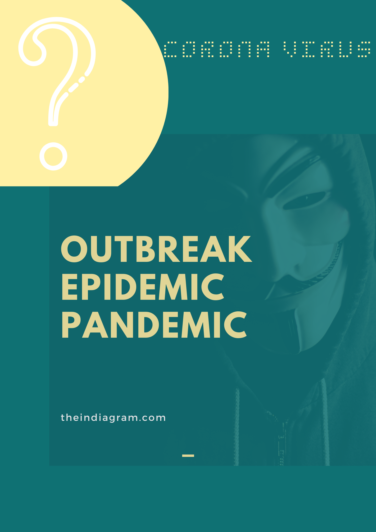 Difference between outbreak and pandemic